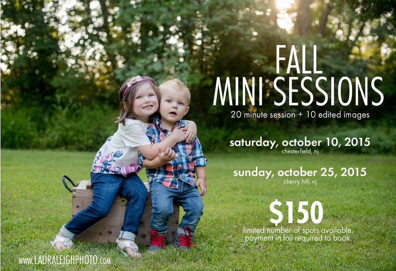 fall mini session south jersey 2015 photographer